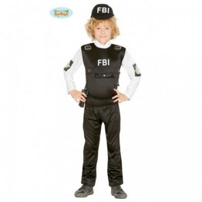 COSTUME CARNEVALE FBI.BABY...